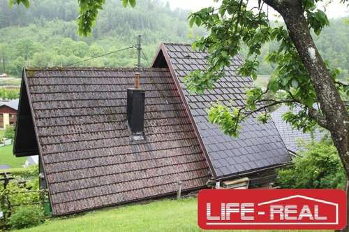 idyllisches Wochenendhaus in sonniger Lage mit ca. 1210m² Grund