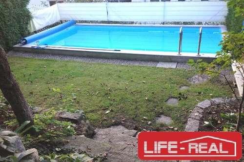großzügiges Reihenhaus mit Garten und Pool am Pöstlingberg/Puchenau