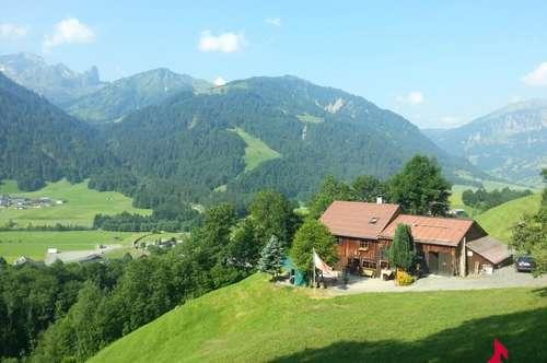 uriges, besonderes Bregenzerwälderhaus