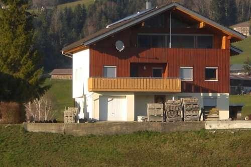 Lingenau: 4-Zi.-DG-Whg. mit Panoramblick