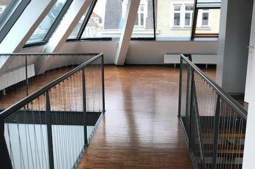 UNBEFRISTETE 6 Zimmer Maisonett Dachgeschoss-Terrassenwohnung Nähe Mondscheingasse