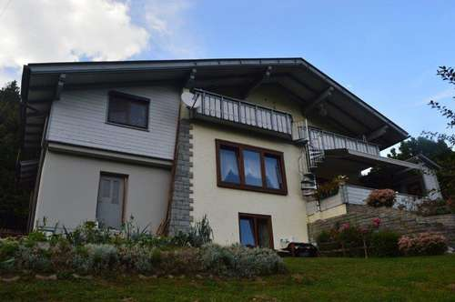 Gepflegtes Zweifamilienhaus in der Bezirksstadt Spittal Drau zu verkaufen