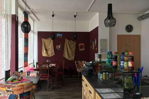 Burger-Pasta-Lokal, ideal gelegen neben 4 Schulen.