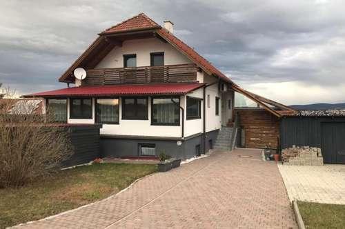 Sonniges Einfamilienhaus mit tollem Ausblick