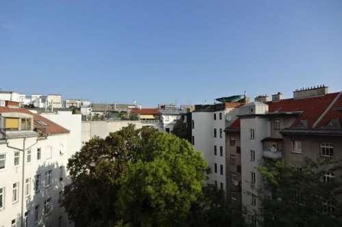 Ruhige 80m² Altbauwohnung, 3 Zimmer + Terrasse, Nähe Wirtschaftsuniversität, 6 Min zur U1 / U2