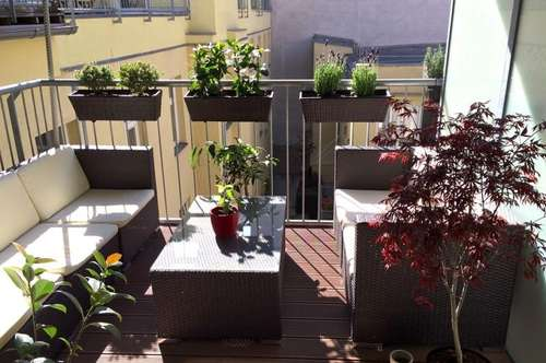 Beautiful and light 3 room apartment, 83m² + balcony, perfect infrastructure, partially furnished