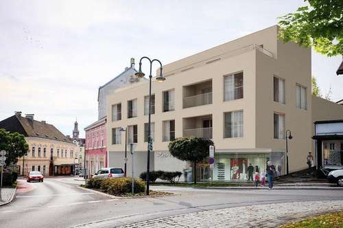 NEUBAU! Barrierefreie Maisonette-Wohnung im Zentrum von Amstetten!