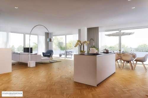 Für gehobene Ansprüche: Erstbezug 3-Zimmer-Terrassen-Wohnung mitten in der Riedenburg!