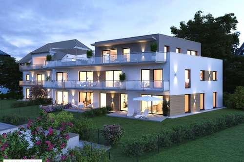 Exklusive 3 Zimmer Erstbezugs-Penthouse-Maisonette mit großer Dachterrasse in der Riedenburg!