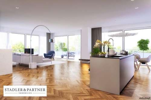 Erstbezug Riedenburg - Wohnerlebnis auf 190 m² Wohnfläche mit 140 m² Sonnen-Terrasse!