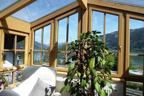 Zell am See-Zentrum: Traumhafte Maisonette-Wohnung mit Seeblick