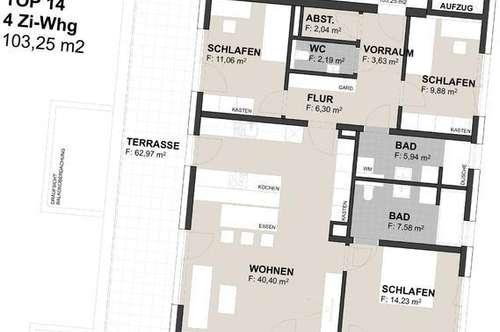 """""""Q94"""" - 4-Zimmer-Neubauwohnung im Zentrum von Unken"""