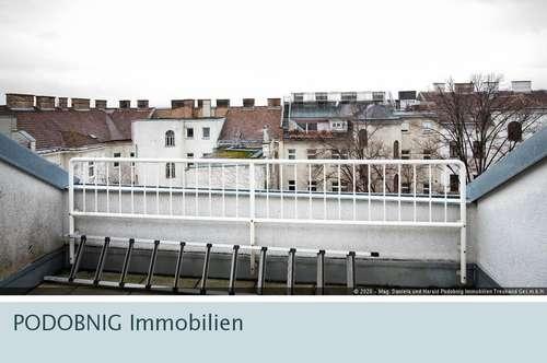 Provisionsfreie helle Dachgeschosswohnung inkl. Garagenplatz in 1150 Wien