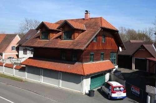 Einfamilienhaus im Holzriegelbau