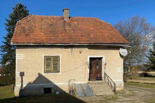 Renovierungsbedürftiges Siedlerhaus