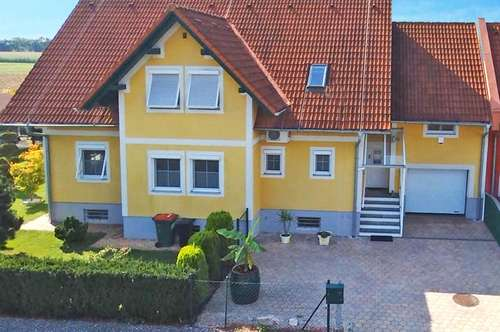 Äußerst gepflegtes Wohnhaus mit Wintergarten