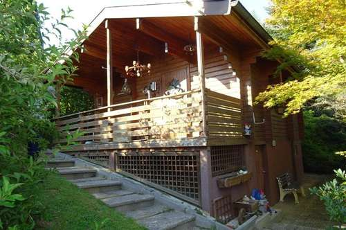 Wochenendhaus mit Naturblick in Ruhelage