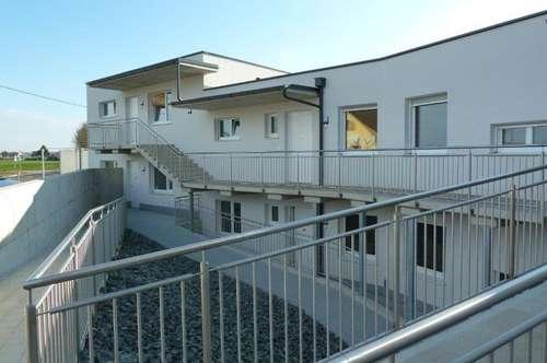 Erstbezugs Mietwohnung mit Balkon, Ruhelage