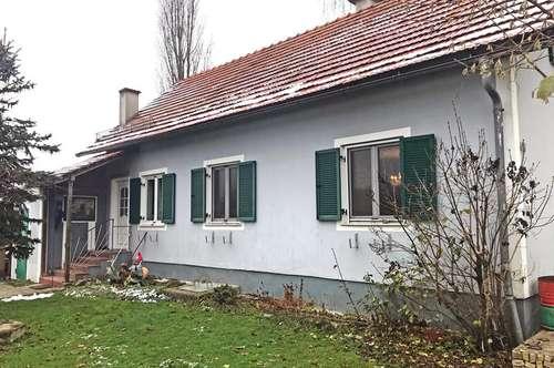 Teilsaniertes Bauernhaus mit Umland