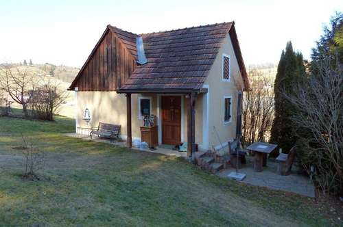 Kleinwohnhaus mit Vollkeller und Freisicht