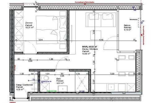 ERSTBEZUG - Komplett neue 2 Zimmerwohnung in Lustenau!