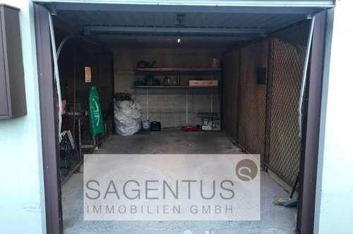 Geräumige Garagenbox zu verkaufen