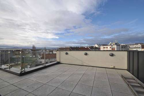 Riesige Dachterrasse mit Wienblick