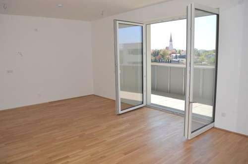 Sehr gut aufgeteilte 2-Zimmer-Wohnung mit großem Balkon in schöner Grünlage!