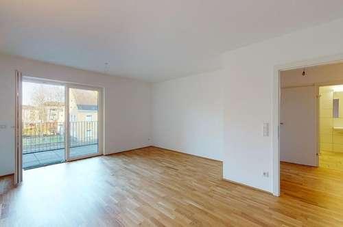 Barrierefreie 2-Zimmer-Wohnung mit großer Loggia! Erstbezug - Mietkauf