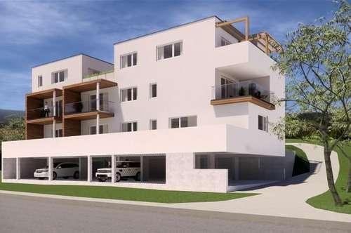 St. Peter: PROVISIONSFREIER NEUBAU: Helles 2-Zimmer-Penthouse mit großer Terrasse!