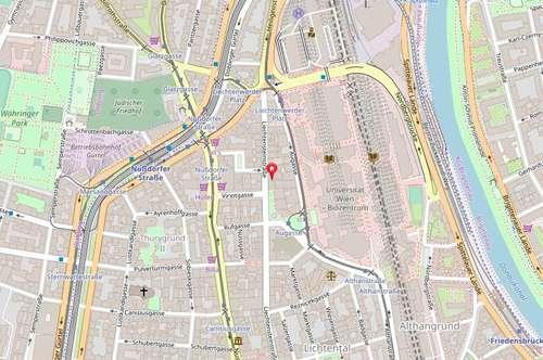 Garagenstellplatz in 1090 Wien, Liechtensteinstraße 114 ab Jänner 2020 frei