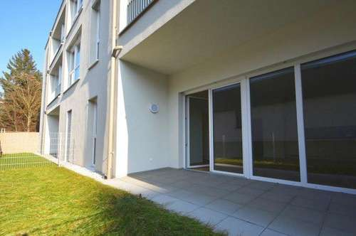 Erstbezug - 2-Zimmer-Wohnung mit schöner Freifläche und ansprechender Architektur!