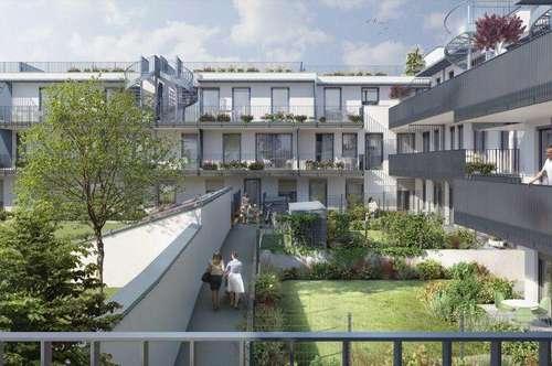 Neubau mit Perfekter Mischung aus Natur und urbanem Leben