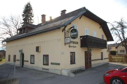 Uriges Gasthaus in frequentierter Lage