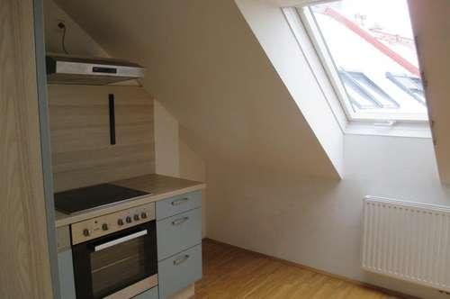 PROVISIONSFREI RUSTLER - 2-Zimmer-Dachgeschoss-Wohnung mit wunderschönem Stadtblick