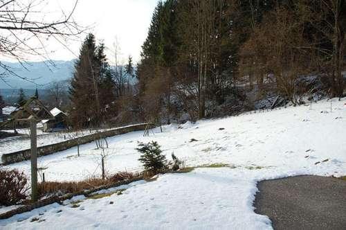 Baugrund in Aussichtslage nahe Wernberg zu verkaufen