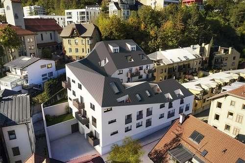 Innsbruck Hötting:Exklusive 2-Zimmer Wohnung mit Balkon in sonniger Aussichtslage Top45