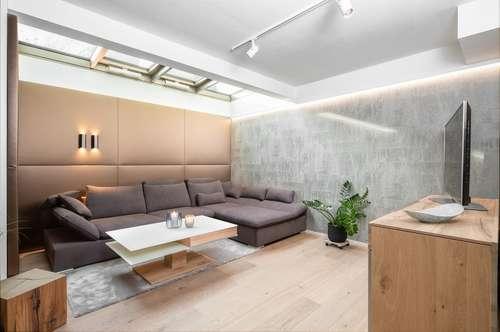 Exklusiv möblierte Garten-Maisonette in bester Lage von Salzburg/Nonntal
