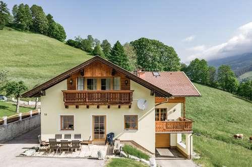 Landhaus mit SPA-Bereich in sonniger Aussichtslage - ZWEITWOHNSITZ