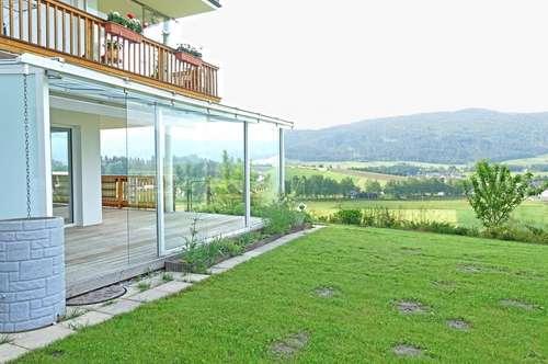 Exklusive 4-Zimmer-Gartenwohnung mit Traum-Aussicht in Mariapfarr