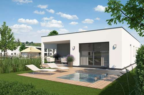 Bungalow am Golfplatz und neben Therme vom Bauträger € 198.500,-