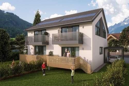 Neubau - Doppelhaushälfte