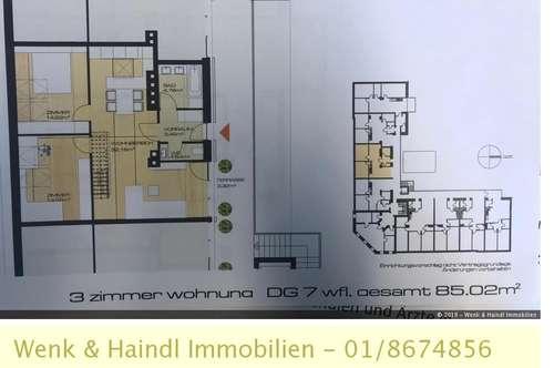 Geräumige Dachgeschoßwohnung mit Dachterrassen in Felixdorf