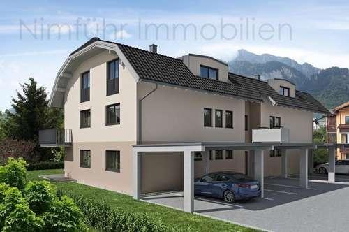 Interessante 2-Zimmer-Neubau-Garten-Wohnung - Grödig