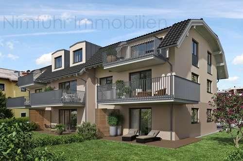 Moderne 2-Zimmer-Neubau-Garten-Wohnung in Grödig