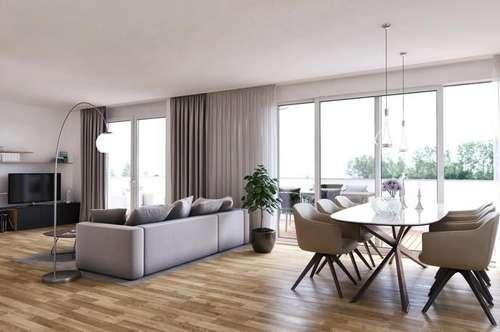 Traumhaftes 3-Zimmer-Neubau-Penthouse in Parsch
