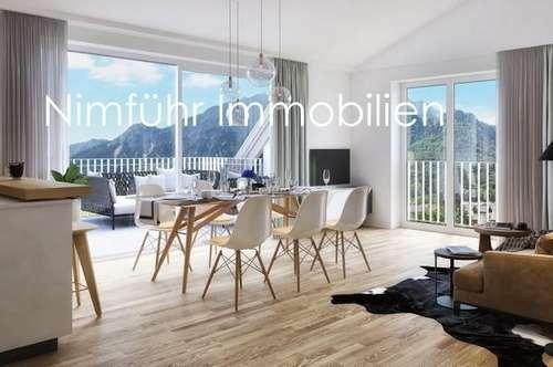 Sonnendurchflutete 3-Zimmer-Neubau-Dachterrassen-Wohnung - Grödig