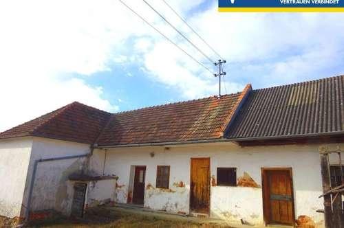 Einfamilienhaus mit schönem Innenhof und Ausblick in die angrenzende schöne Natur - Sanierungsbedürftig