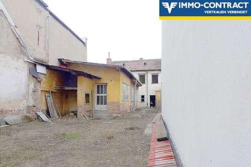 Seltene Gelegenheit:  Baugrund im Stadtzentrum mit 60 m² Abbruchhaus