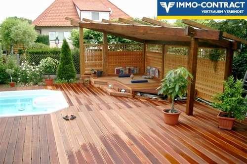 Traumhaftes Einfamilienhaus - Familienglück mit Pool, Garten und Garage !